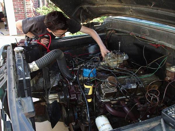 4067working_on_engine