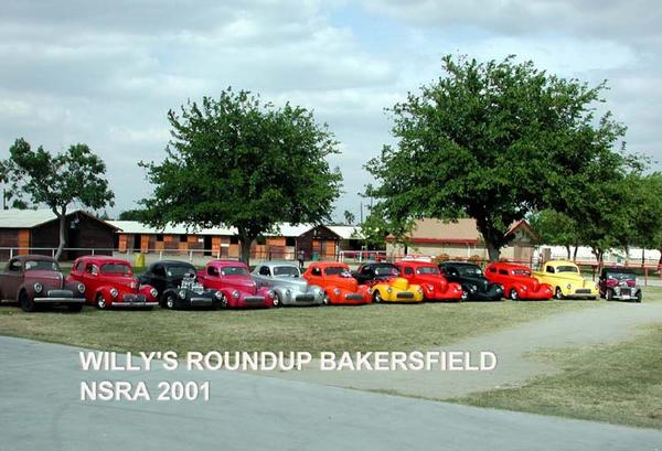 Willys at Bakersfield
