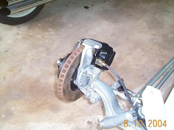 AMC disc brake installed
