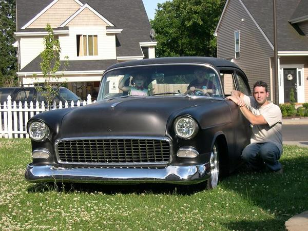 Me, the kids, and the '55