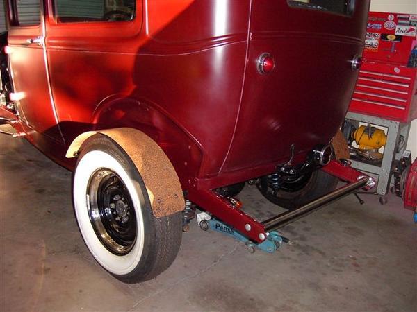 rear fenders
