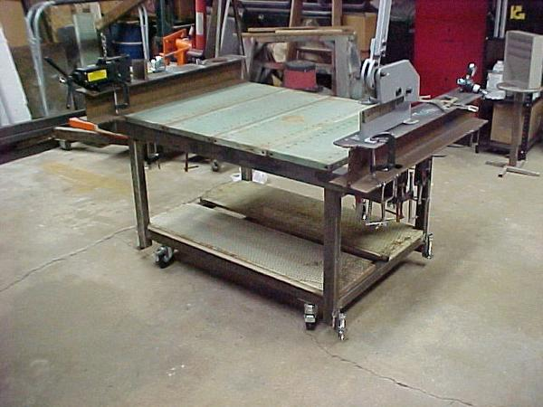 Download welding work table plans pdf types of wood joints for Plan fabrication table