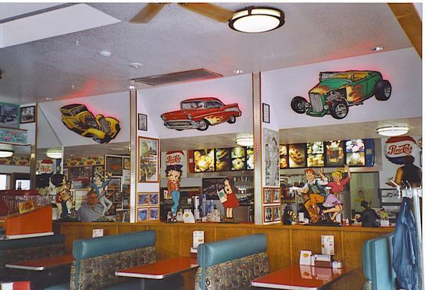 Hot Rod Cafe...