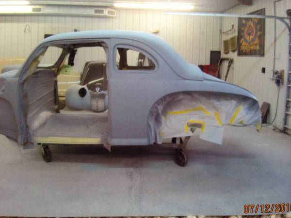 Building the 47 Coupe