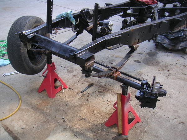 New straight axle