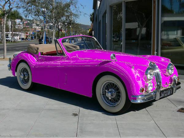1948 Jag, photoshoped