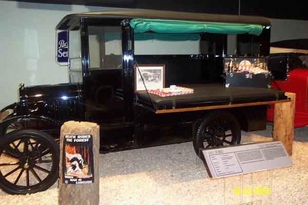 1921 Ford T Kampkar