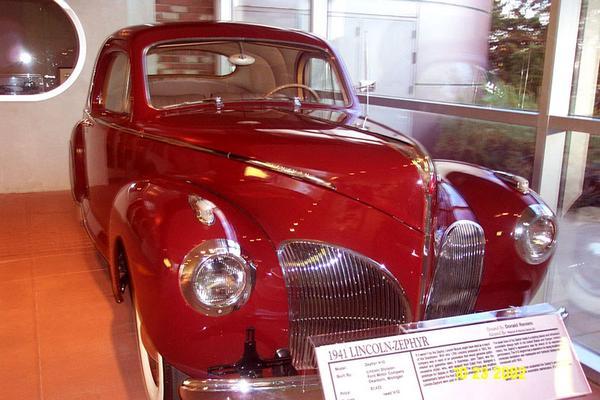 1941 Lincoln-Zephyr V-12