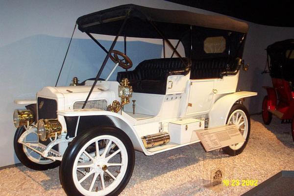 1909 White Steam O Touring
