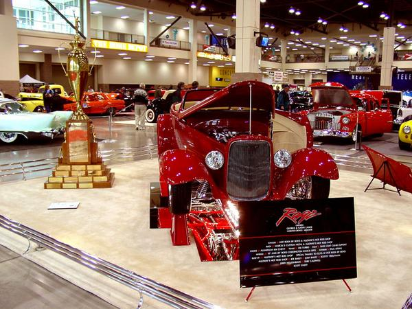 "2003 Seattle Roadster Show ""2003 AMBR Winner"""