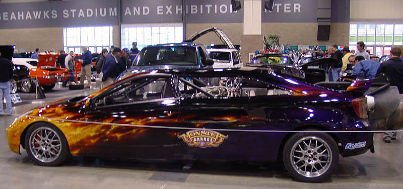 Monster Garage Jet Car Club Hot Rod Photo Gallery