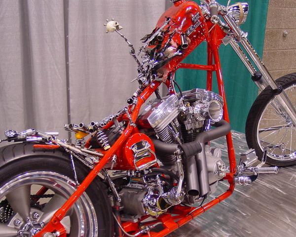 "Monster Garage Protest Bike ""Economizer"""