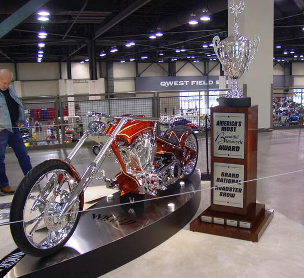 America's Most Beautiful Motorcycle
